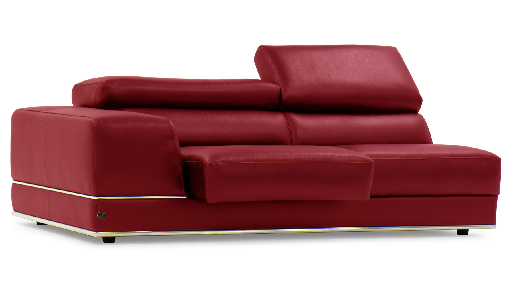 red leather two seater sofa kanes table 2 brokeasshome