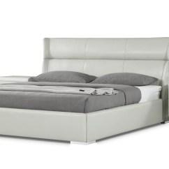 Light Grey Leather Sofa Bed Zinc Left Arm Hypnos Platform Zuri Furniture
