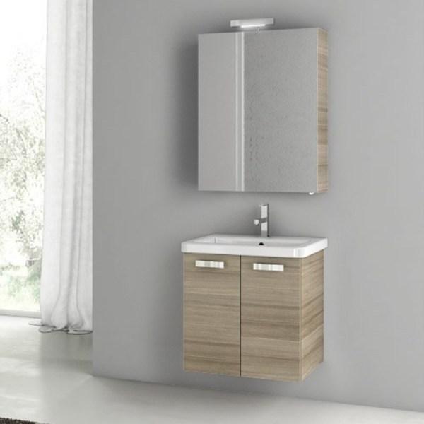 Modern 22 City Play Vanity Set With Ceramic Sink