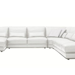 3 Piece White Leather Sofa Set Accessories With