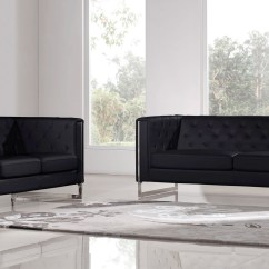 Black Modern Sofa Set Macy S Clare Products In Sofas Sets Seating Living On Zuri Furniture