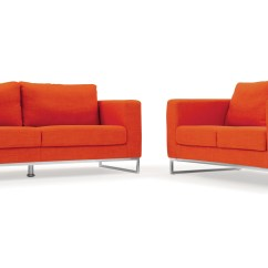 Modern Fabric Sofa Set Newcastle Cleaning Orange Free Shipping Design Best Living