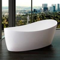 Modern Dune Freestanding Bathtub | Zuri Furniture