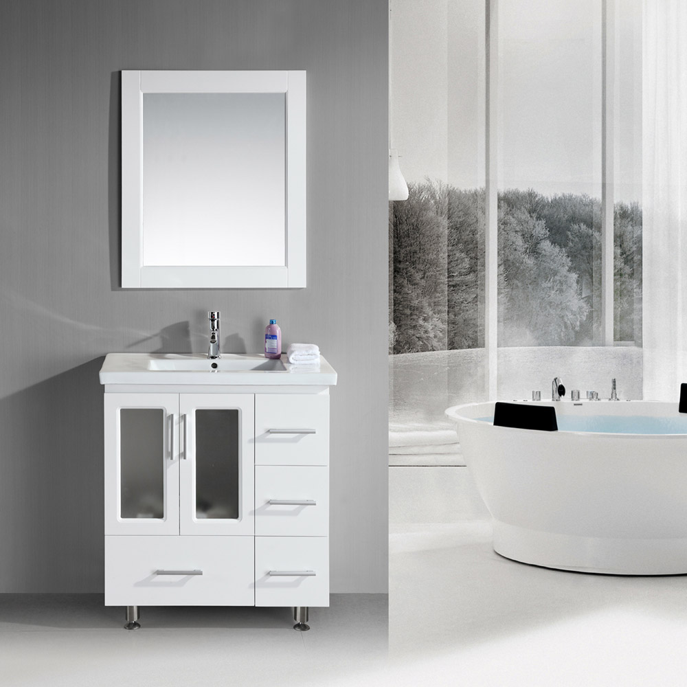 Alexander 32 Single Sink Vanity Set  Zuri Furniture