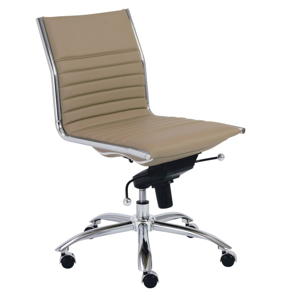 Low-Back Armless Office Chair