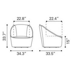 Quilted Swivel Chair Cushions For Metal Chairs Modern Philip Aquamarine Velvet Zuri Furniture