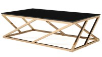 Black And Gold Coffee Table - Home Design