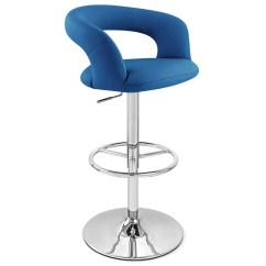 High Bar Stool Chairs Sams Folding And Tables Monza Adjustable Height Swivel Armless Zuri Furniture Free Shipping