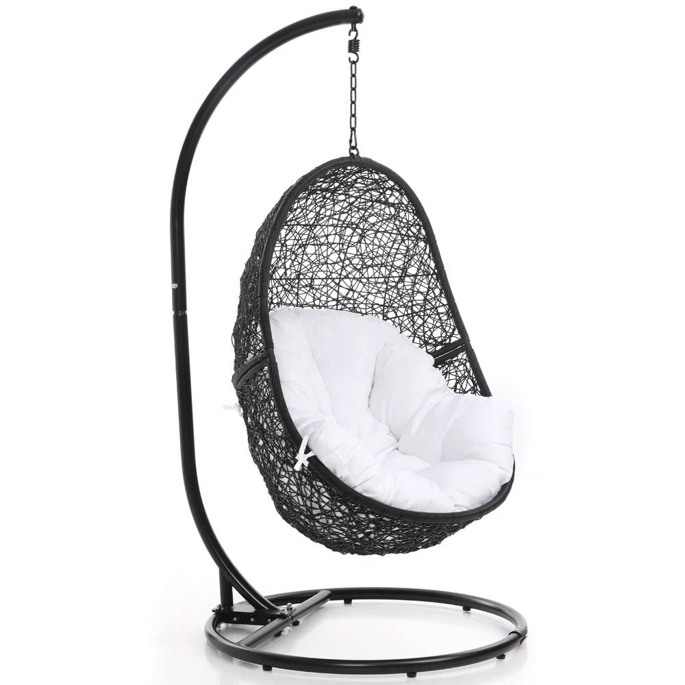 swing chair pics rei flexlite reef black zuri furniture next