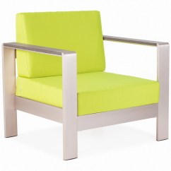Modern Aluminum Chair Best Chairs Inc Glider Rivera Brushed And Water Resistant Fabric