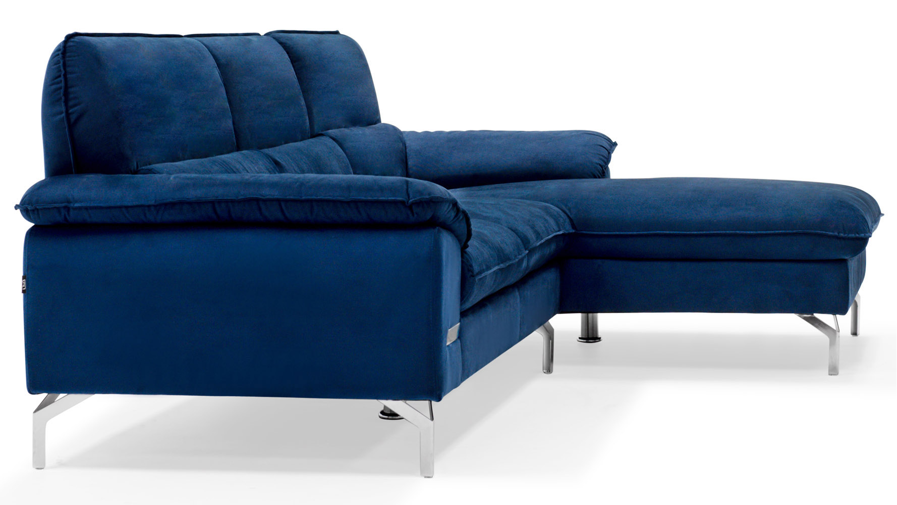 navy blue velvet sofa canada diana dark brown leather sectional set  review home decor