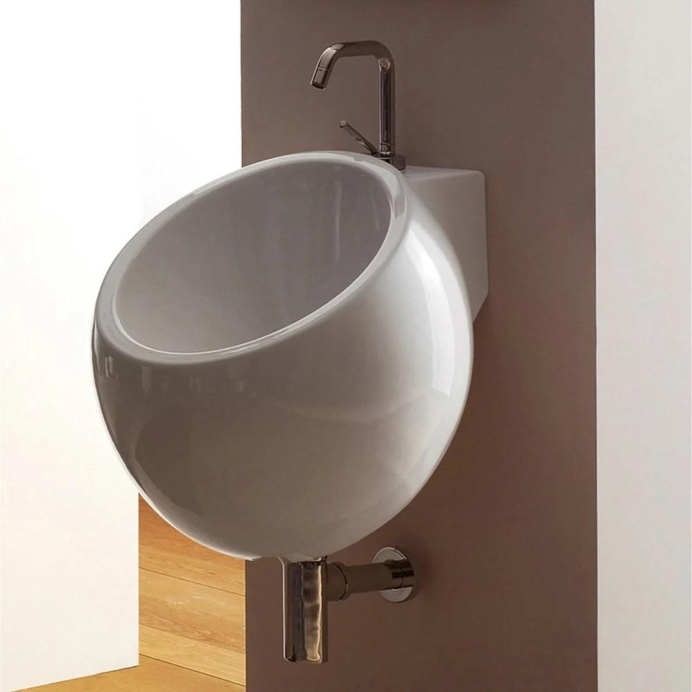 Planet Wall Mounted Sink  Zuri Furniture