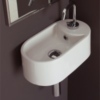 Seventy Collection Wall Mounted Sink | Zuri Furniture