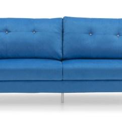 Blue Fabric Recliner Sofa Oxford Room And Board Tweed Model 711 Danish Beige Mid Century