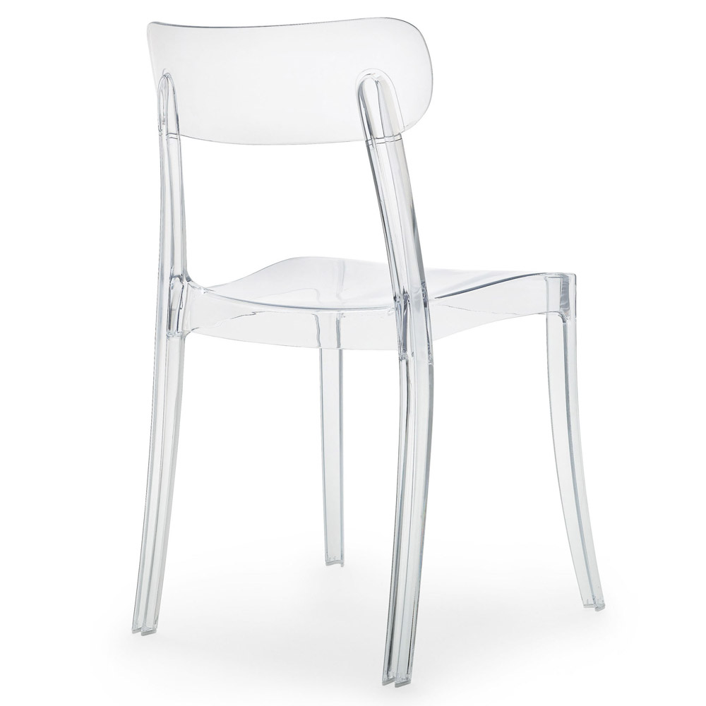transparent polycarbonate chairs yellow and gray accent chair novo dining set zuri furniture next