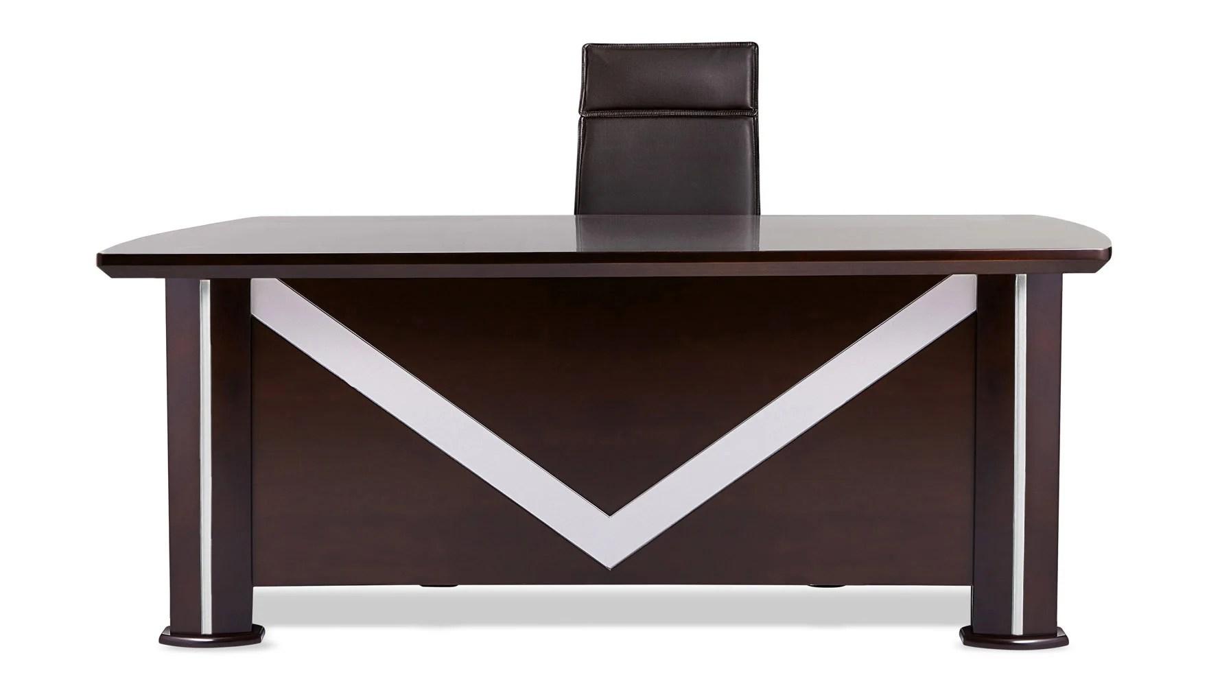 desk chair non rolling steel manufacturers in delhi walker modern dark wood with return and file