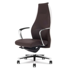 Leather Executive Office Chair Beach Chairs With Backpack Straps Wrigley Genuine Aluminum Base High Back Free Shipping