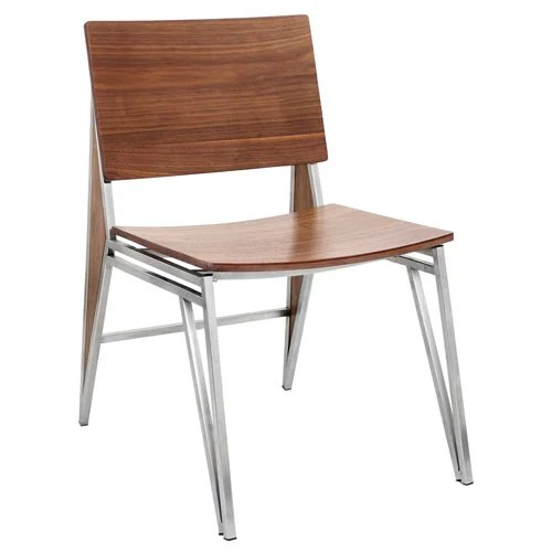 zahara swivel chair baby high sale modern marco with - set of 2 walnut/off-white | zuri furniture