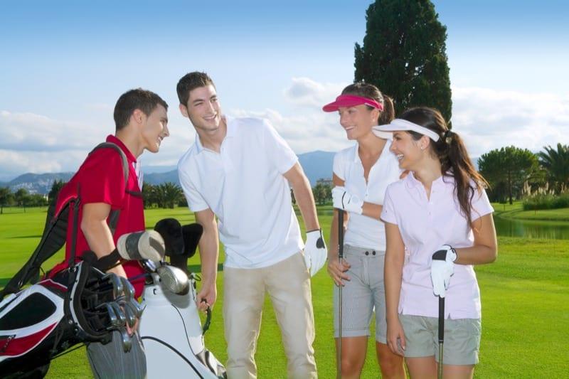 ZUSAMMENSPIEL Golfevents als Betriebsausflug