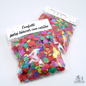 Bolsita de confetti