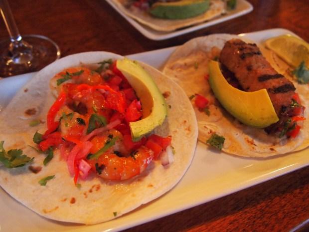 Tacos - Camarones del Diablo - Porc Grille