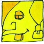 EB Gelbe Menschwelle