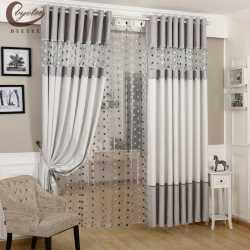 byetee moderne rideau epais cuisine blackout rideaux pour salon tissus salon rideau chambre rideaux cortinas