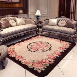 kingart lavable tapis salon tapis de sol epais couverture de yoga tapis chambre tapis de fourrure et tapis pour la maison decoration et de mariage
