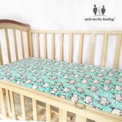 miracle bebe drap housse 100 coton textile de maison drap de lit housse de matelas protecteur crib sheet bebe ensemble de literie 130x70 cm