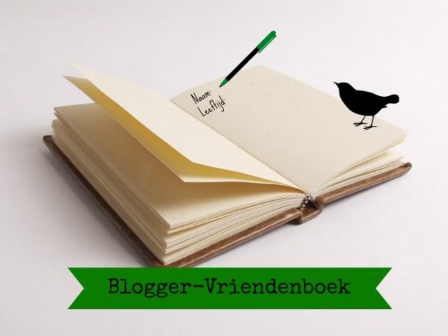 Blogger-Vriendenboek (Zwartraafje)