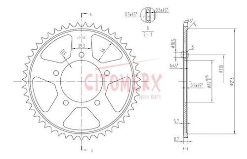 Kettenkit X-ring 15 47 pour Suzuki GSF 600 Bandit Année