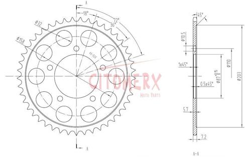 Kettenkit X-Ring verst. 15 45 für Suzuki SV 650 S 1999