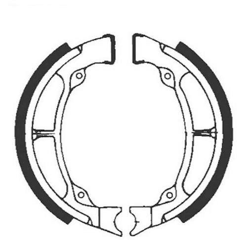 Bremsbacken für Trommelbremse EBC mit Federn Typ S601 für