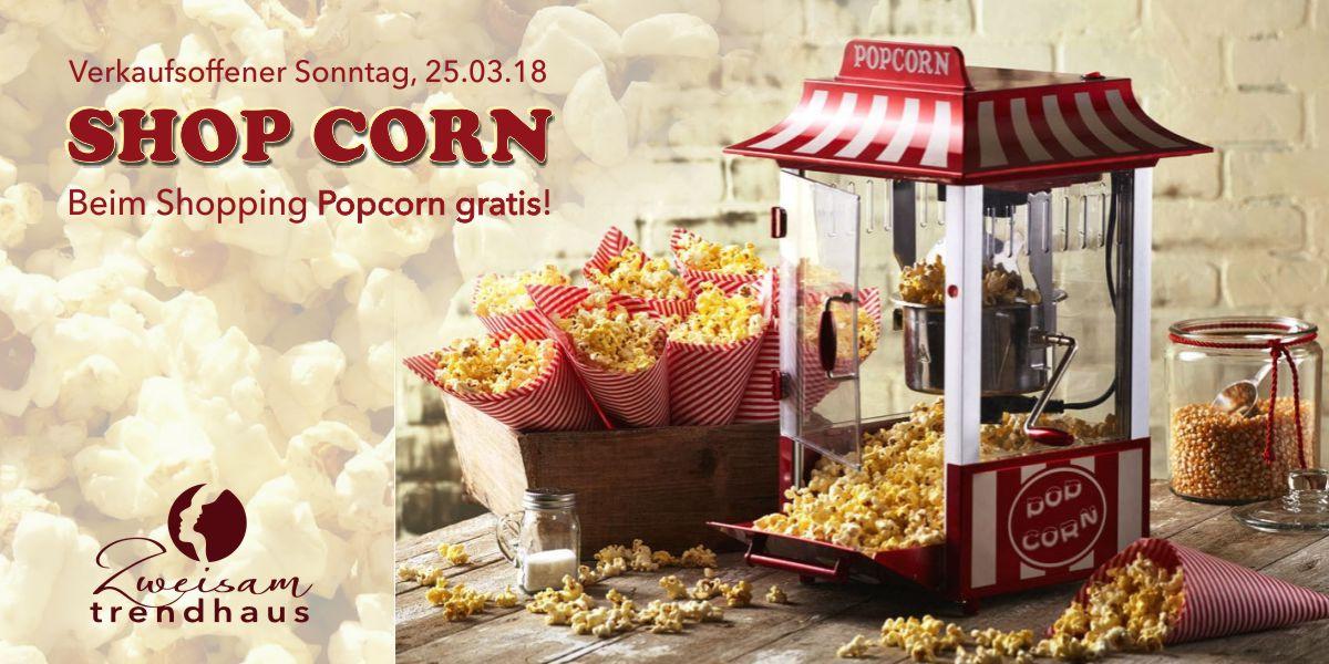 Shop Corn Verkaufsoffener Sonntag
