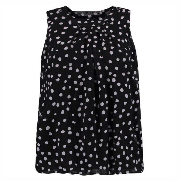 HAILYS Damen Bluse Top DOTTY black ohne Arm Art.Nr. JY-HAILYS Damen Bluse Top Dotty rose Art.Nr. JY-HAILYS Damen Bluse Top DOTTY Art.Nr. JY-1701063