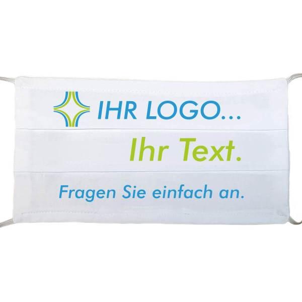 Gesichtsmaske wiederverwendbar nach Wunsch bedruckt mit Ihrem Logo aus Schonach im Schwarzwald