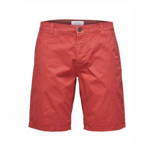 Herren Bermuda Short von Only&Sons in cranberry rot Artikel 22012174 von vorne