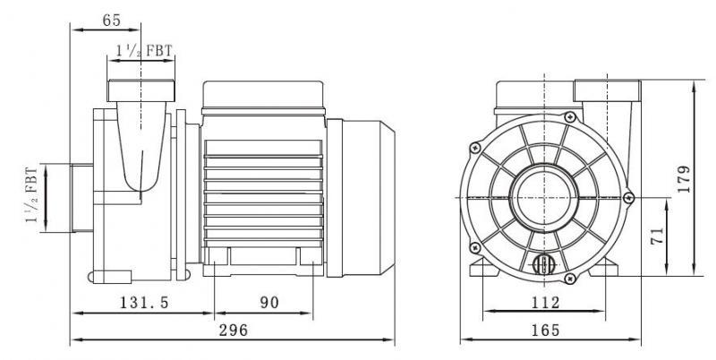 Circulation Pump Pool and SPA LX WTC50M BRANDNEW LOWEST