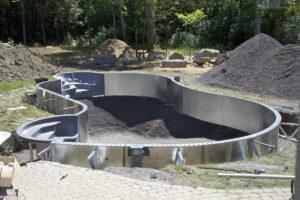 Inbouw Zwembad Met Stalen Wanden