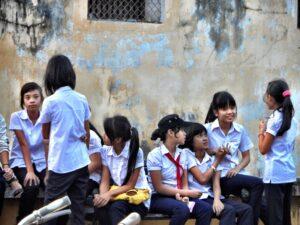 Schulkinder in Hoi An