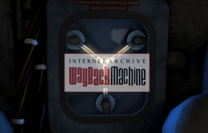 The Way Back Machine Cover