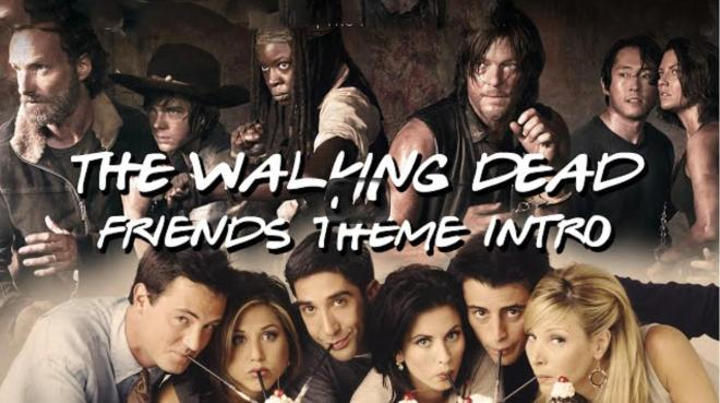Friends vs the walking dead
