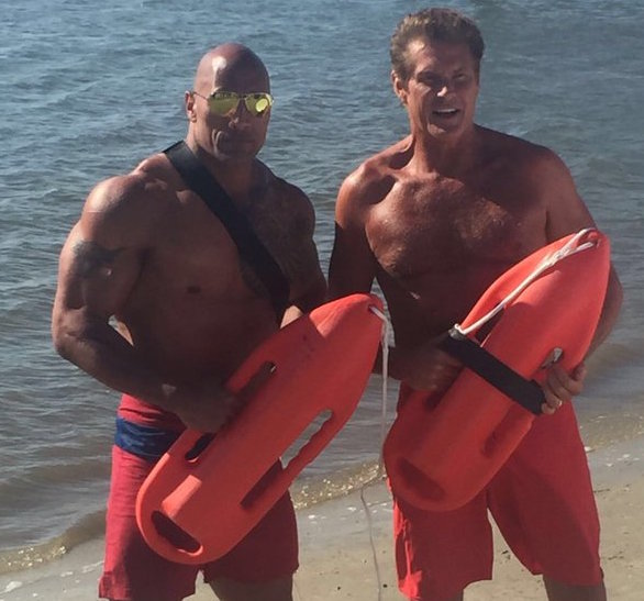 Baywatch The Hoff