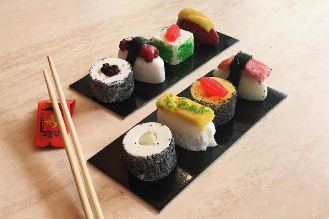 Ice Cream Sushi