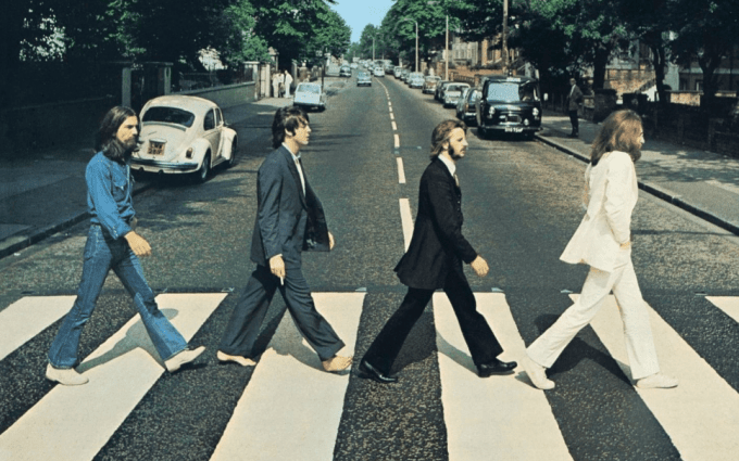 Paul McCartney walks Abbey Road again