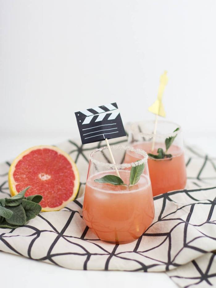 Drinks: Pretty in Peach
