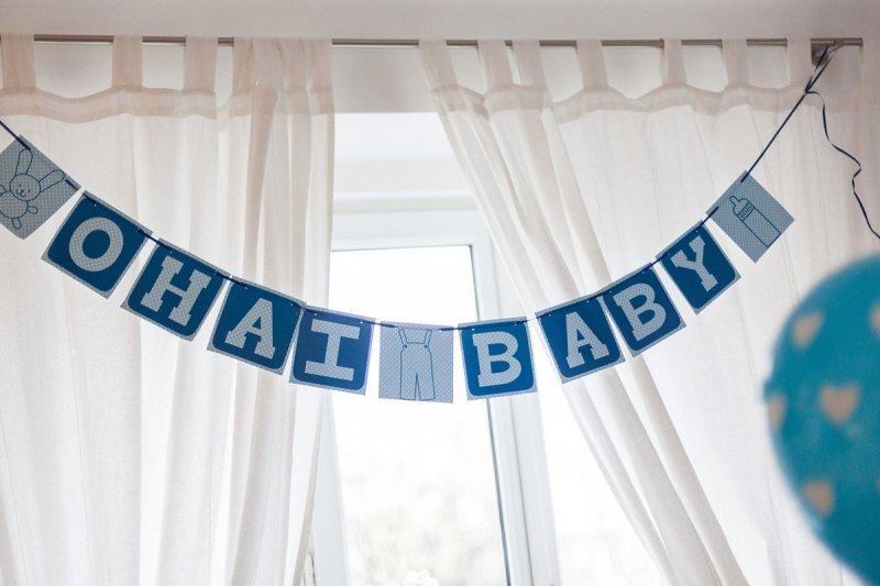 eine baby party für einen buben! rezepte & deko gibt's bei der zwergenprinzessin.