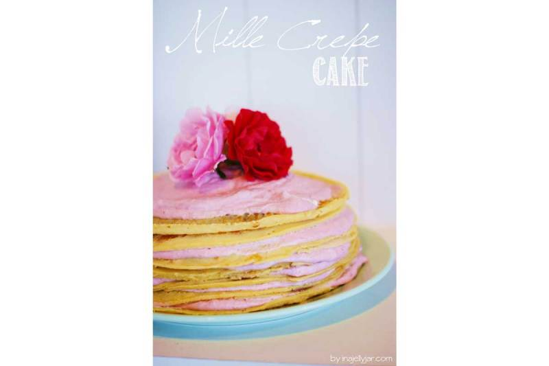 mille crepe cake von conny (moment in a jelly jar)