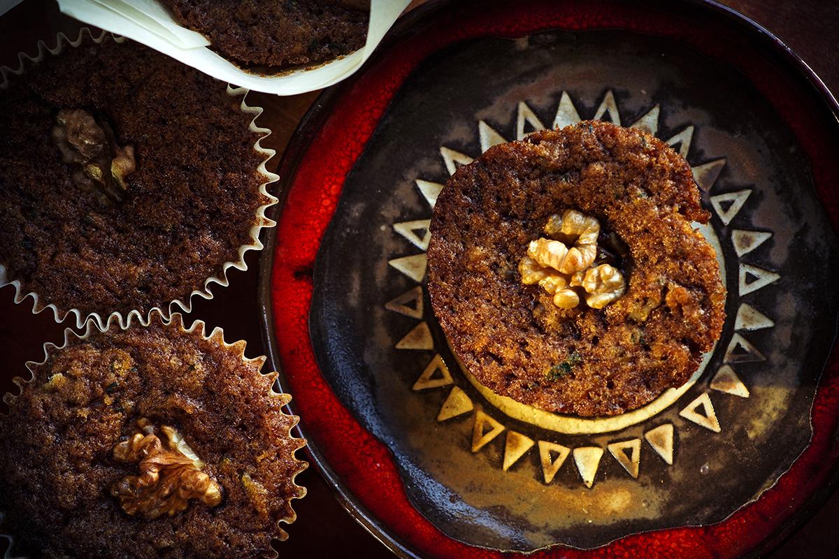 muffiny z cukinii