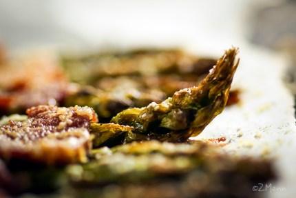 szparagi pieczone